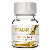 25mg THC GoldCaps