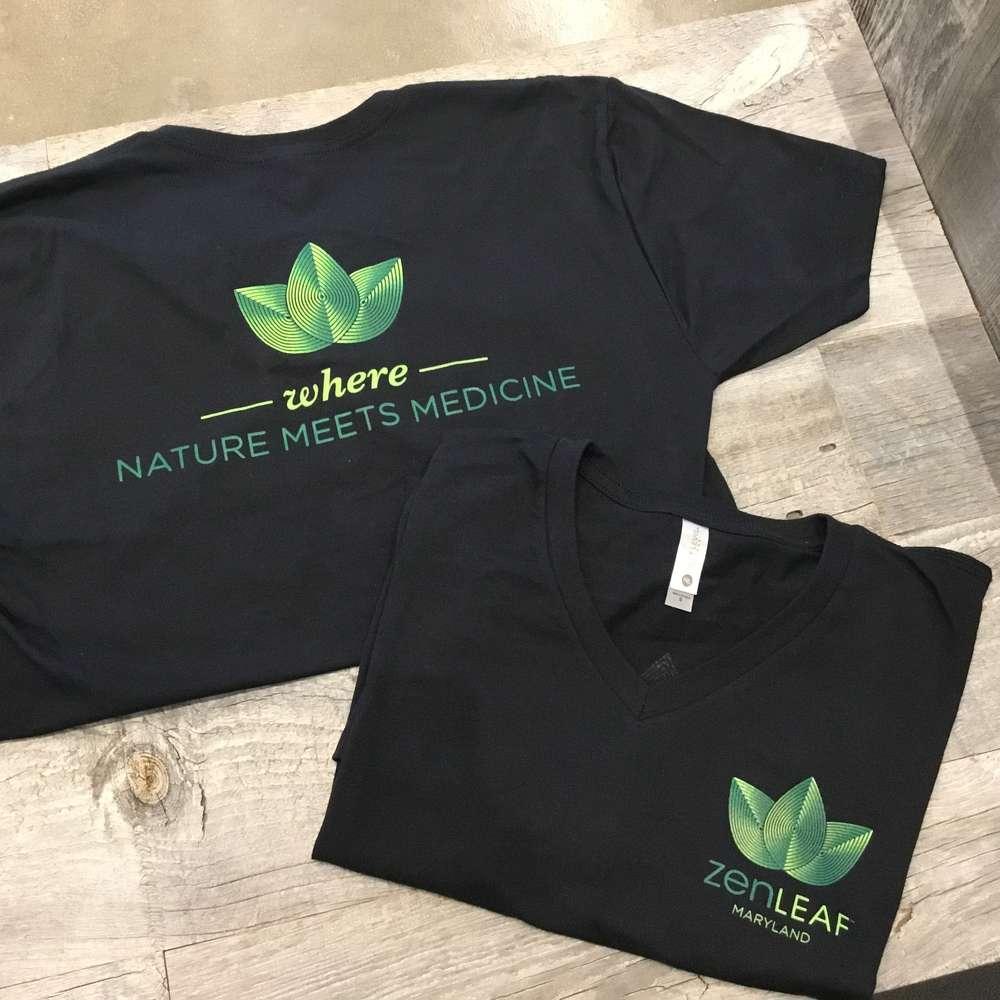 Zen Leaf T-Shirt (XL)