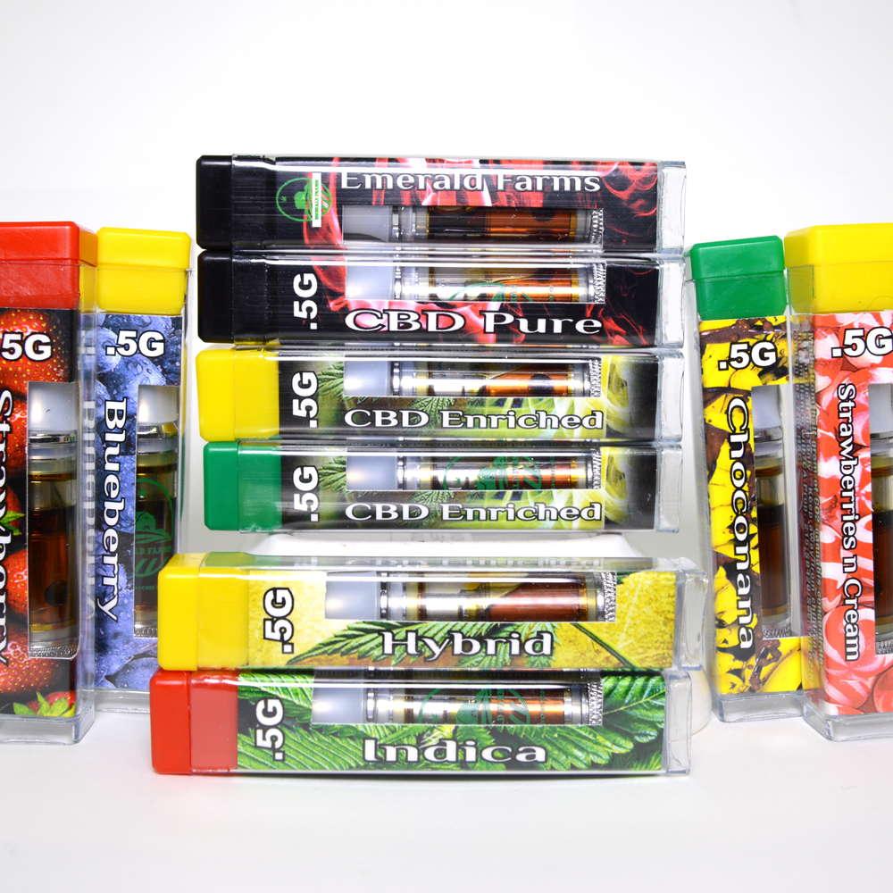Emerald Farms CBD Cartridges - Leaf Lab - Medical ...